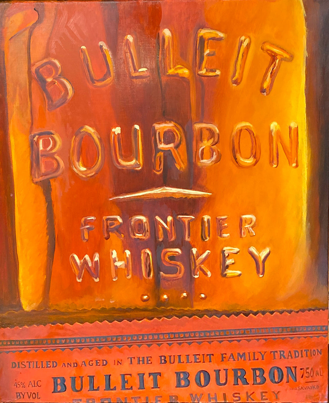 Bulleit Close one