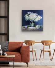 Load image into Gallery viewer, Peonies in Silver