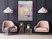 Load image into Gallery viewer, Original Oil Painting - Love Squared abstract
