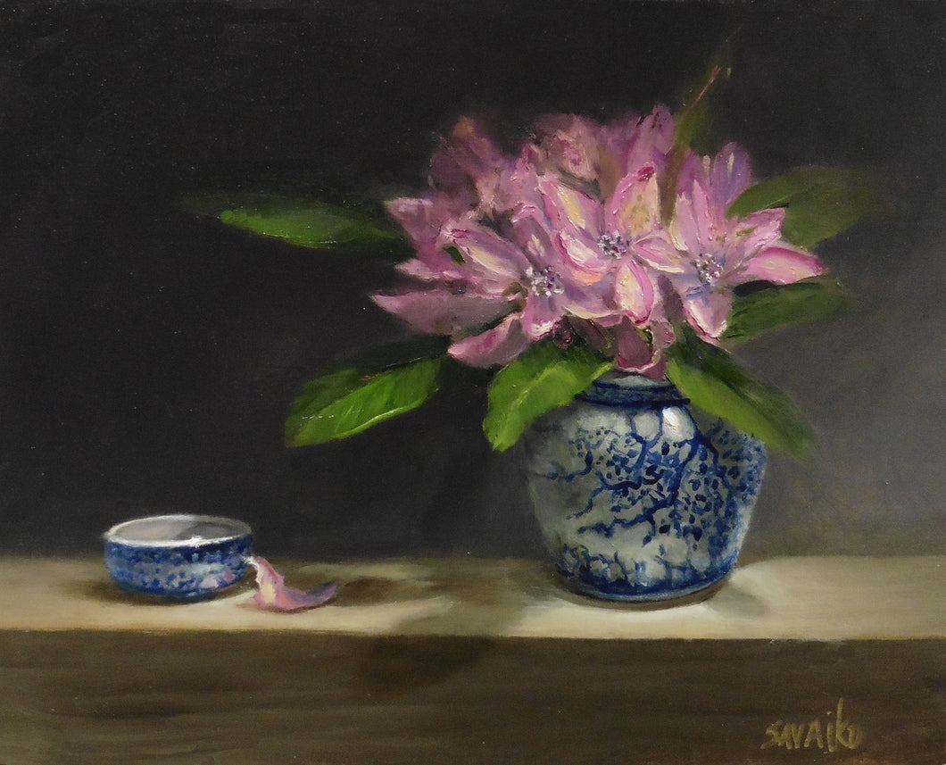 Original oil painting - Ginger Jar