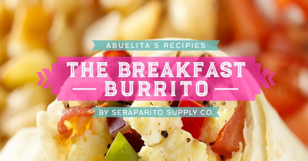 New Mexican Breakfast Burrito