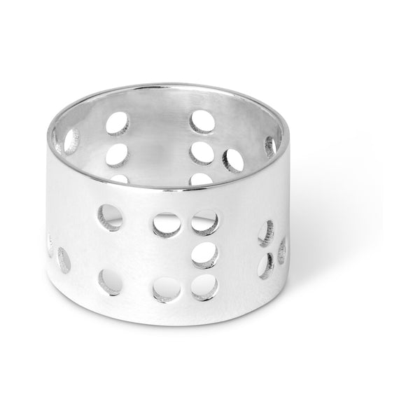 LULU Copenhagen LUCKY FINGER RING Rings Silver