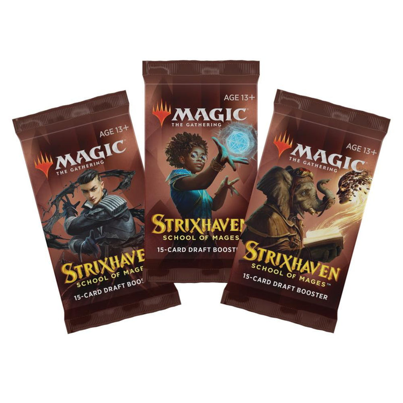 Magic the Gathering Strixhaven School of Magic Draft Booster