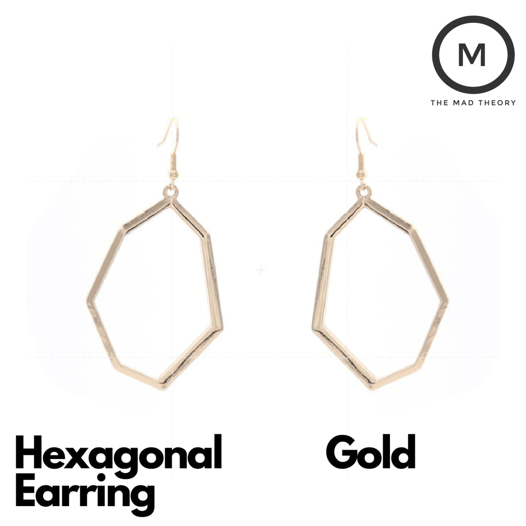 Hexagonal Earring