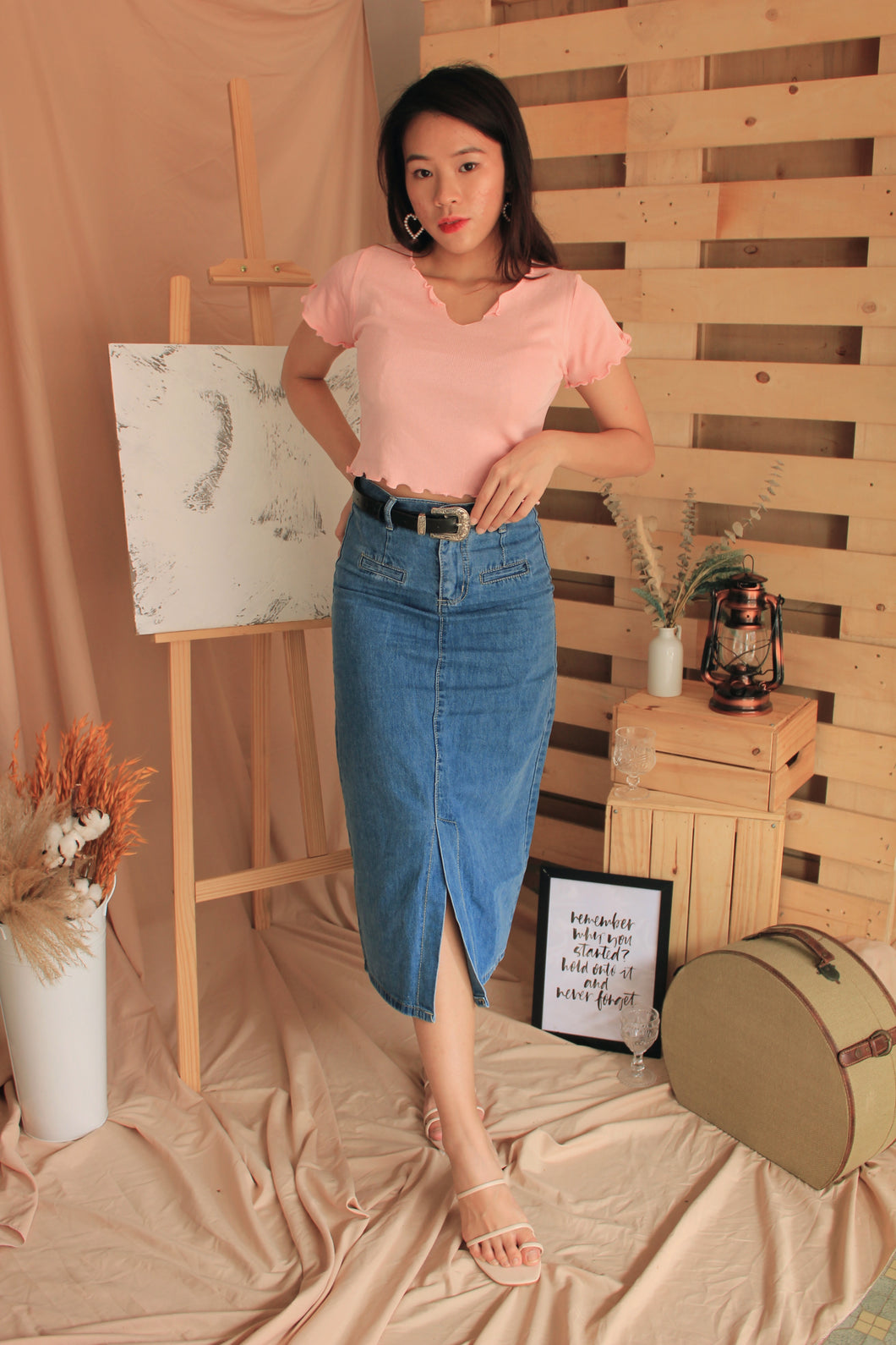 Sloan Denim Skirt