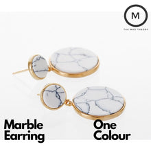 Load image into Gallery viewer, Marble Earring