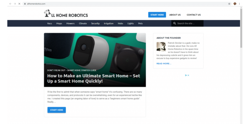 Smart home, smart house, home automation, domotics