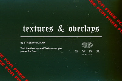 Test Analog Film Overlays & Textures von STREETVISION.NX SHOP