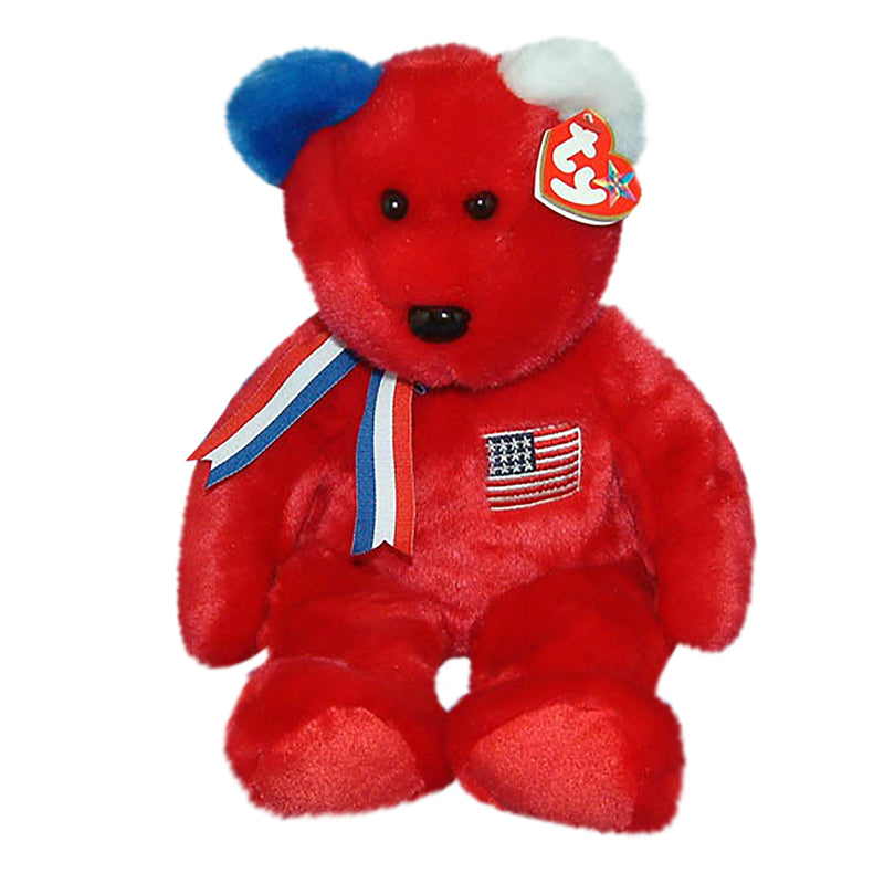 Ty Buddy: America the Red Bear
