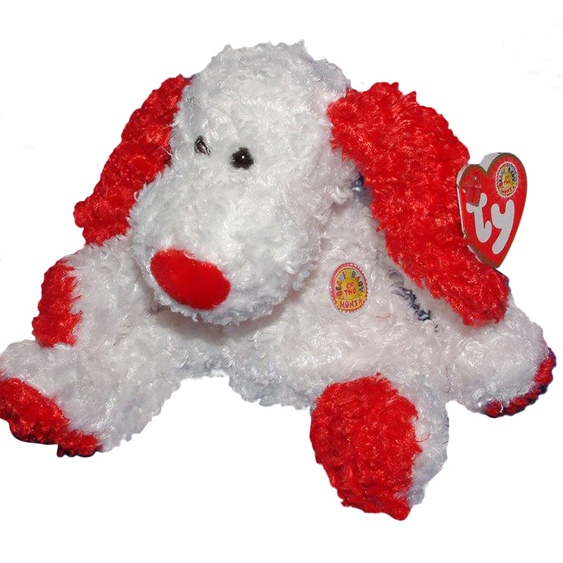 Ty Beanie Baby: Adonis the Dog BBOM February 2005