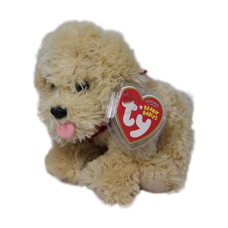 Ty Beanie Baby: Biscuit the Dog - Bob Evans Exclusive