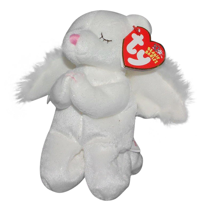 Ty Beanie Baby: Blessed the Praying Bear - Bon-Ton & Elder-Beerman Exclusive