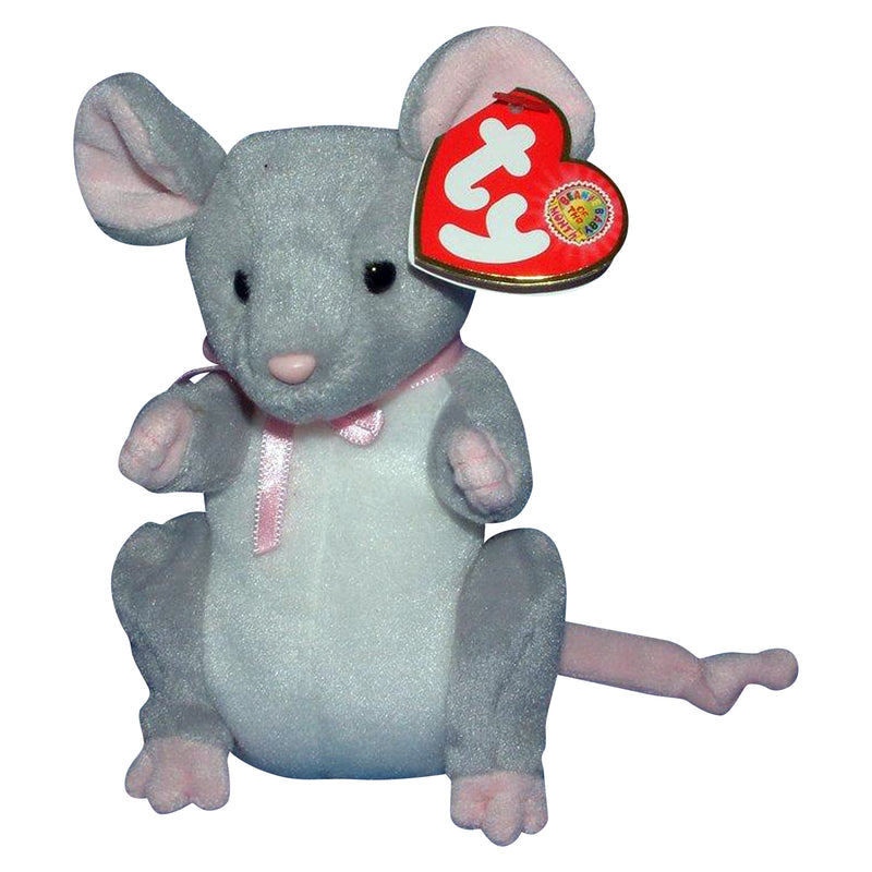 Ty Beanie Baby: Breadcrumbs the Mouse BBOM May 2005