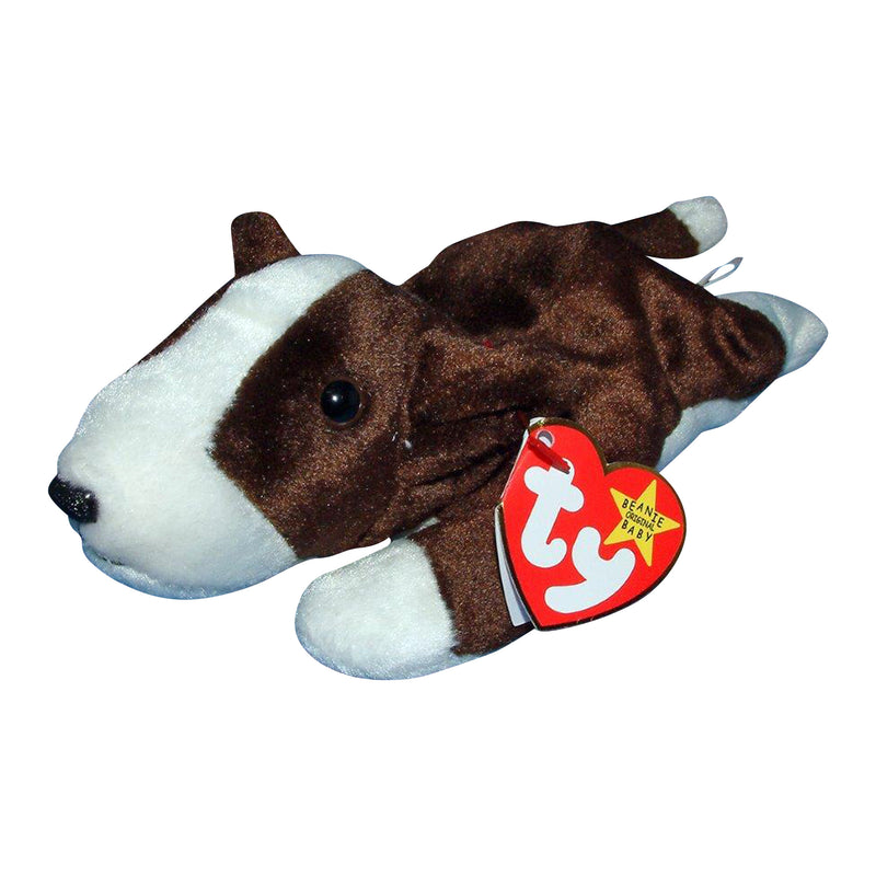 Ty Beanie Baby: Bruno the Terrier Dog