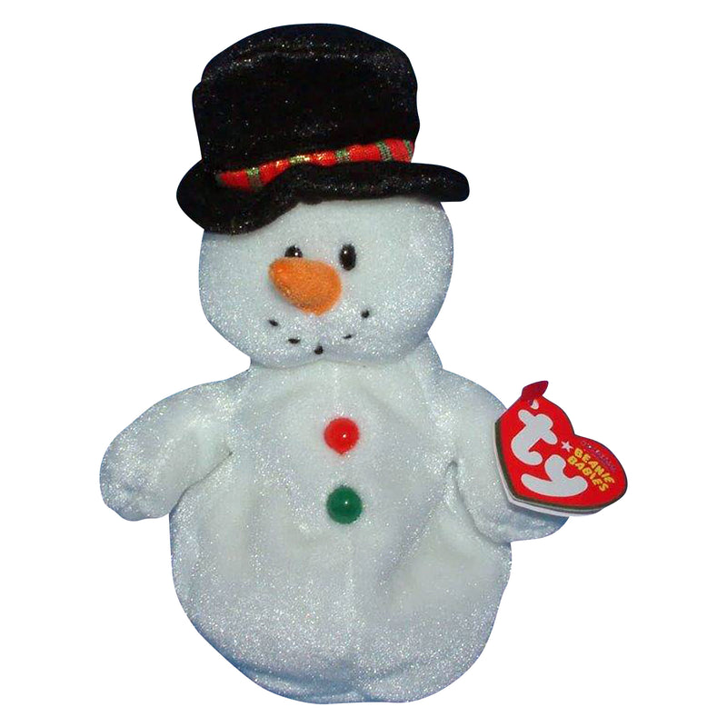Ty Beanie Baby: Coolston the Snowman