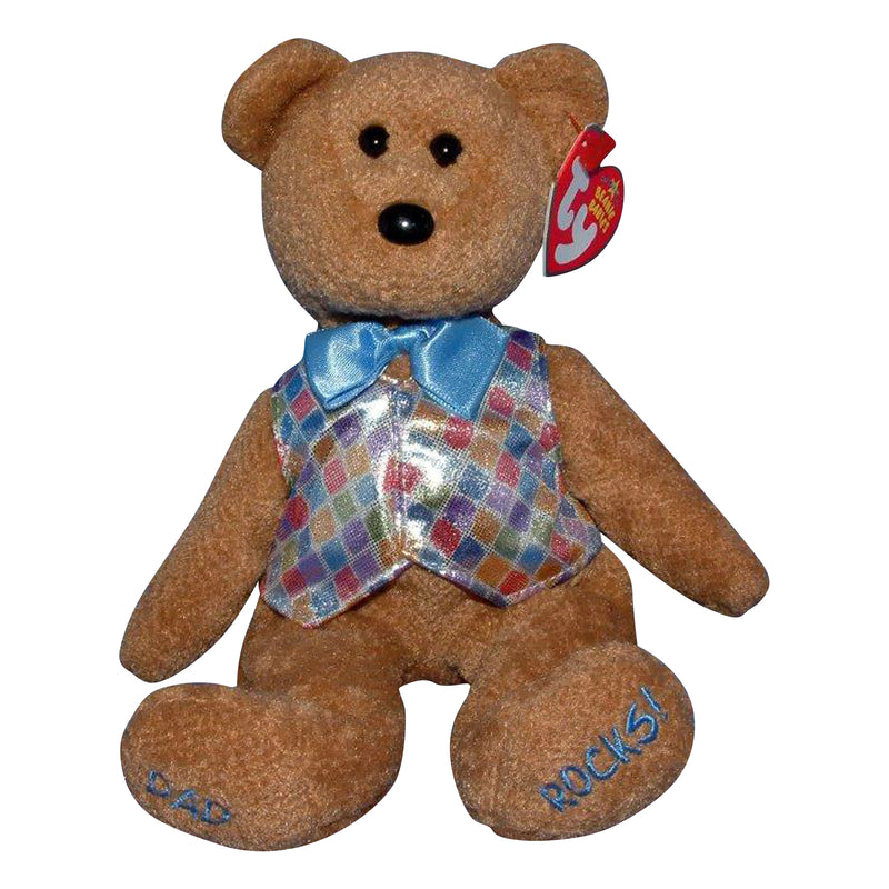 Ty Beanie Baby: Dad 2006 the Bear