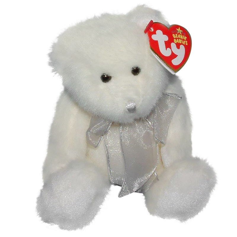 Ty Beanie Baby: Eggnog the Bear