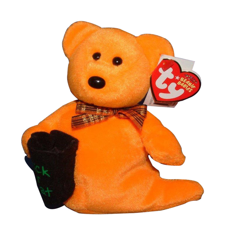 Ty Beanie Baby: Haunted the Ghost Bear