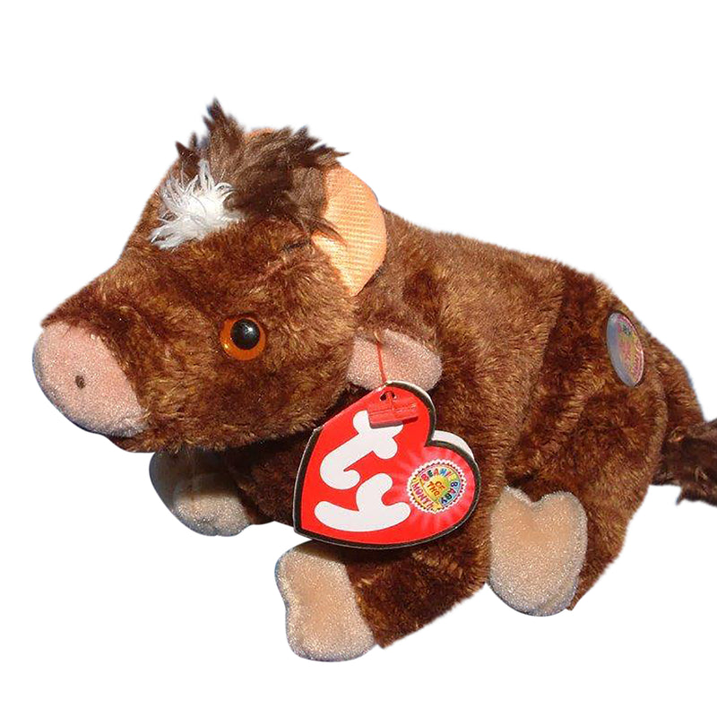 Ty Beanie Baby: Jersey the Bull BBOM January 2004