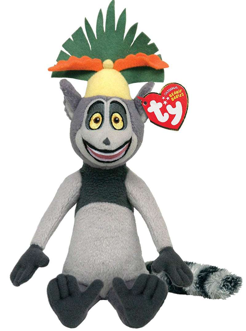 Ty Beanie Baby: King Julien the Lemur
