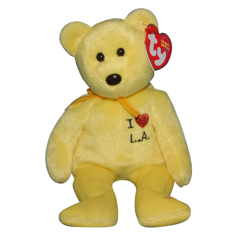 Ty Beanie Baby: I Love LA the Bear