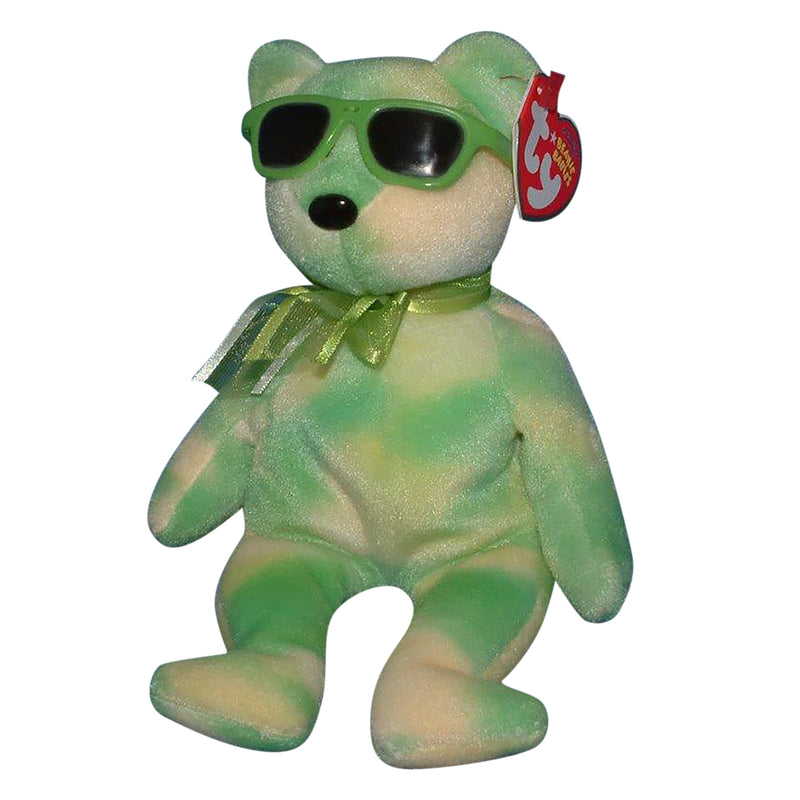 Ty Beanie Baby: Lime Ice the Bear - Trade Show Exclusive