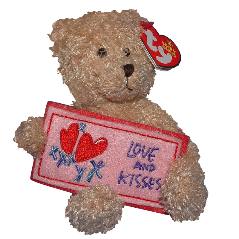 Ty Beanie Baby: Love and Kisses the Bear
