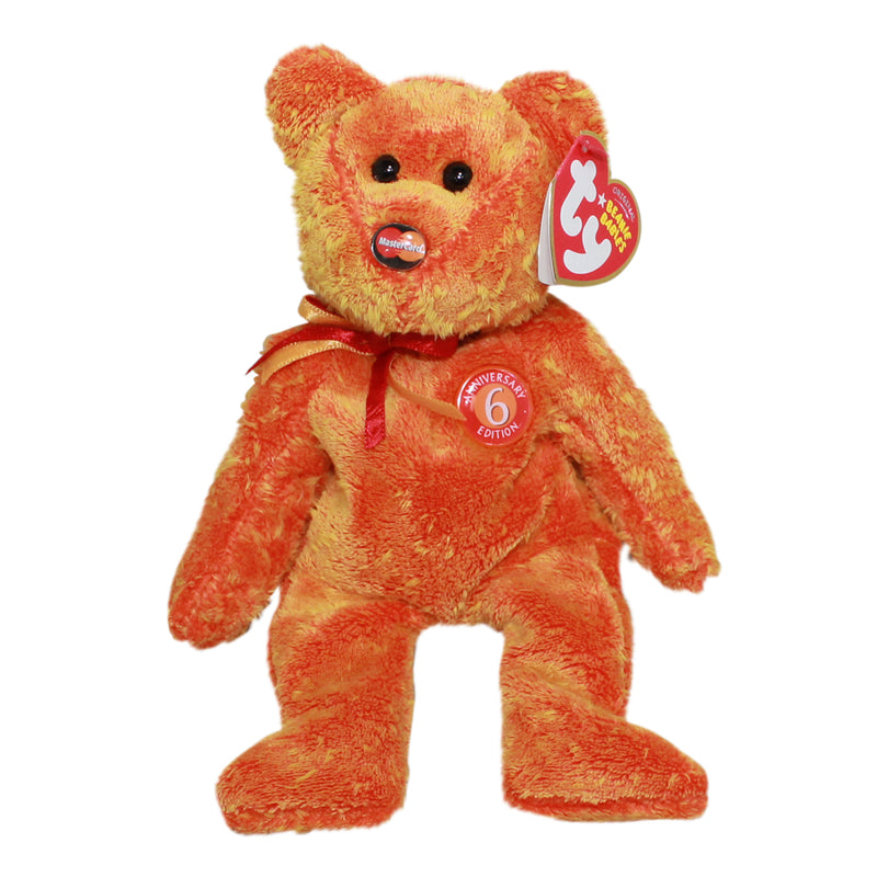 Ty Beanie Baby: M.C. Anniversary 6th Edition the Bear