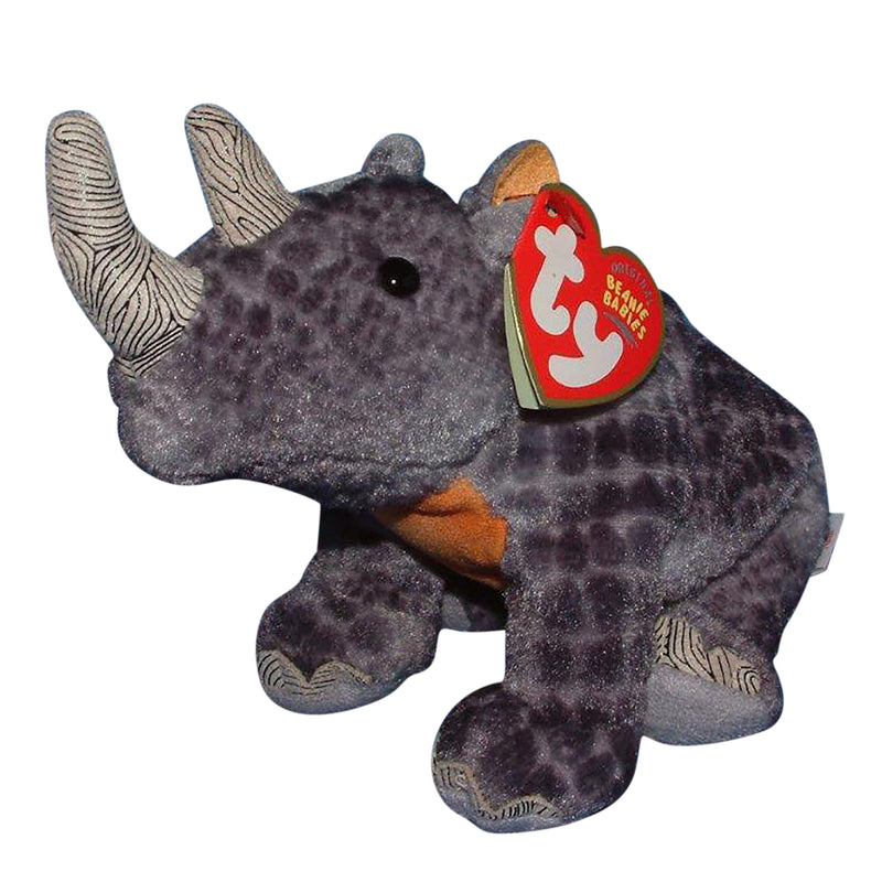 Ty Beanie Baby: Nami the Black Rhino - WWF - Ty Store Exclusive