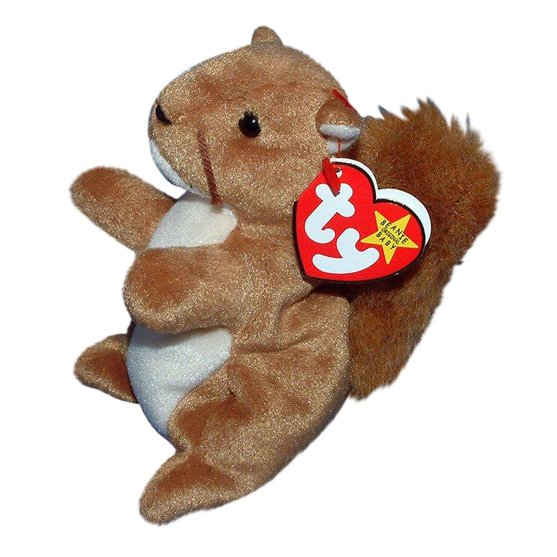 Ty Beanie Baby: Nuts the Squirrel