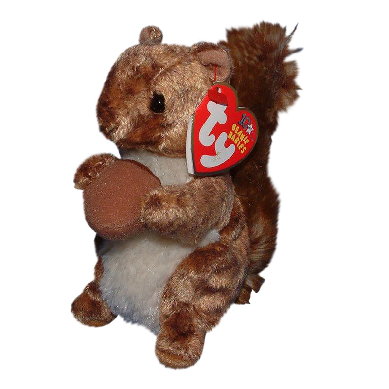 Ty Beanie Baby: Nutty the Squirrel