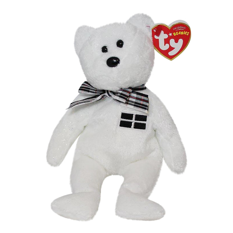 Ty Beanie Baby: Piran the Bear - Black Nose