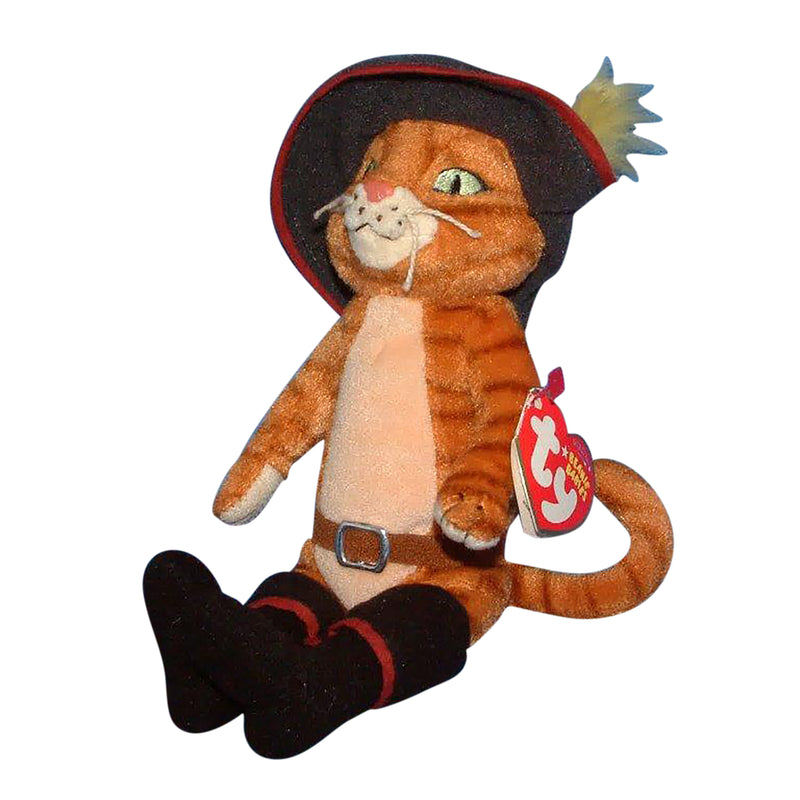 Ty Beanie Baby: Puss in Boots the Cat