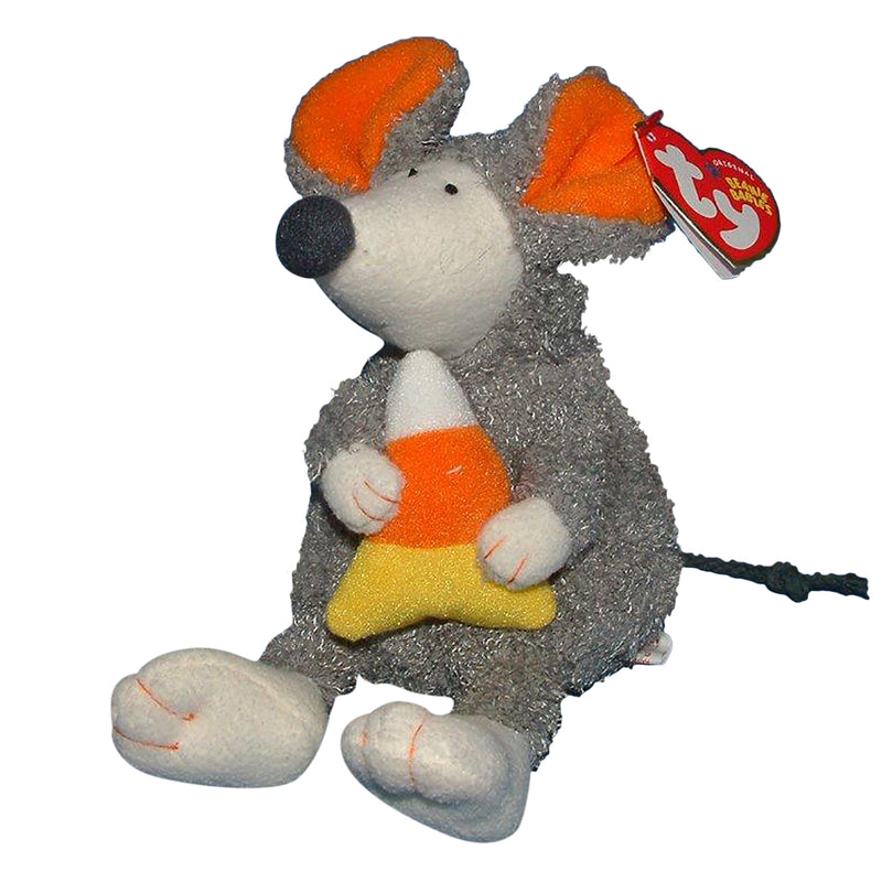 Ty Beanie Baby: Ratzo the Rat - Candy Corn