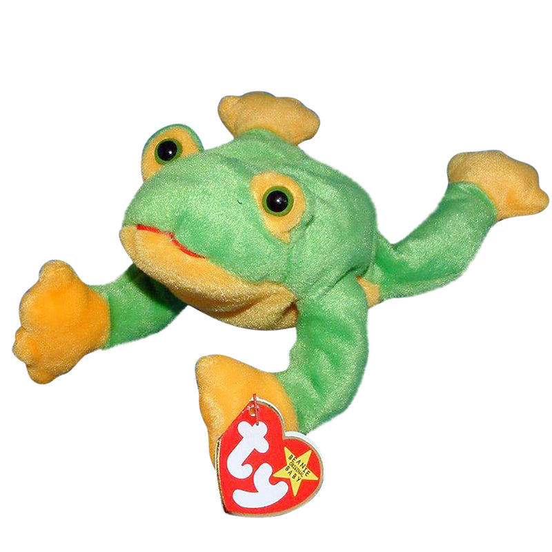 Ty Beanie Baby: Smoochy the Frog
