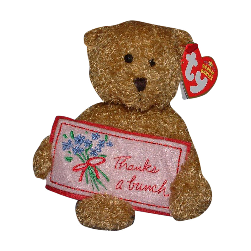 Ty Beanie Baby: Thanks a Bunch the Bear