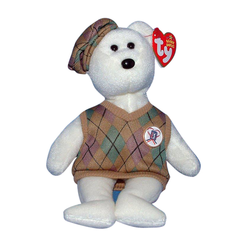 Ty Beanie Baby: Tour Teddy the Bear
