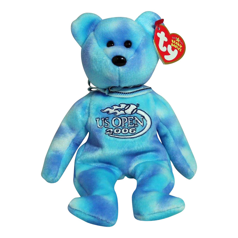 Ty Beanie Baby: Deuce the Bear US Open 2006 (flame)