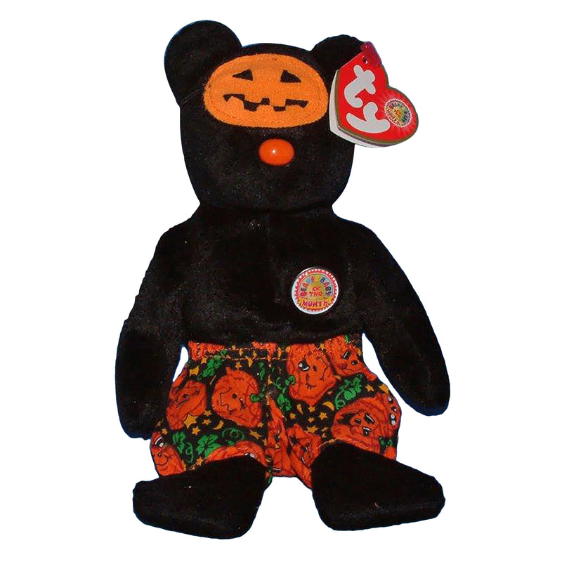 Ty Beanie Baby: Scares the Bear BBOM October 2006