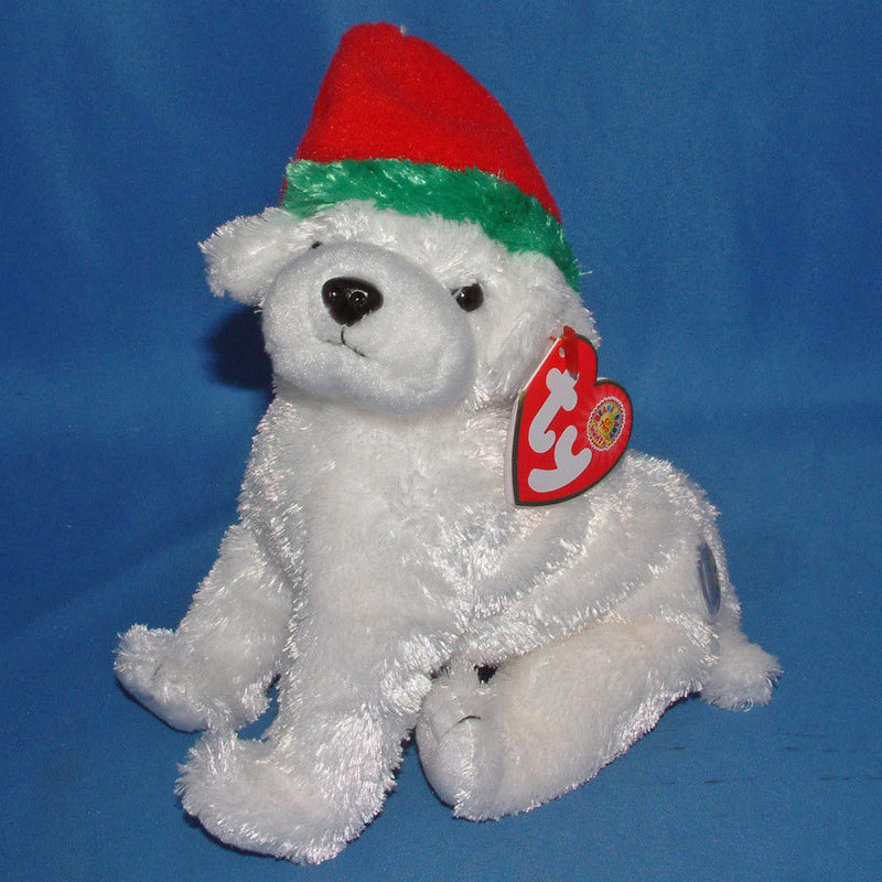 Ty Beanie Baby: Tinsel the Dog BBOM December 2003