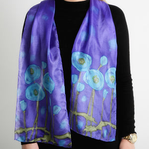 Poppies Long Scarf