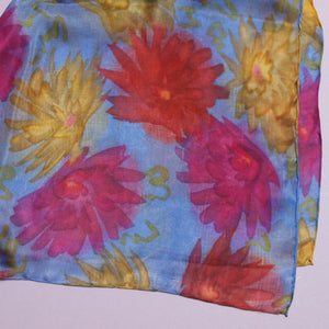 Chrysanthemums Long Scarf