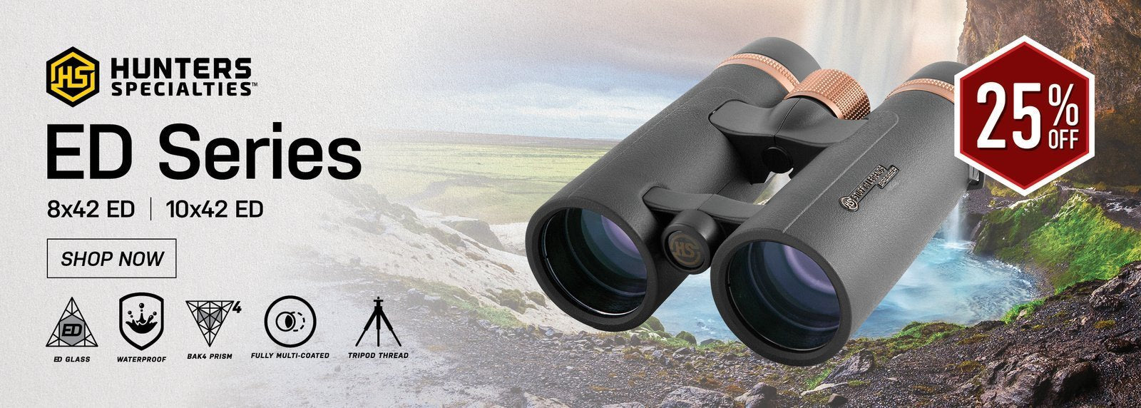 Alpen Pro 10x42 Long Eye Relief Binoculars