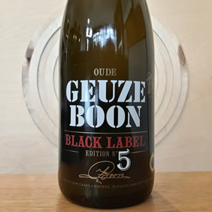 Brouwerij Boon | Oude Geuze Boon Black Label Edition N°5 | Gueuze