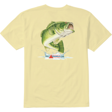 Load image into Gallery viewer, JON DICKSON POCKET SS TEE LT YELLOW