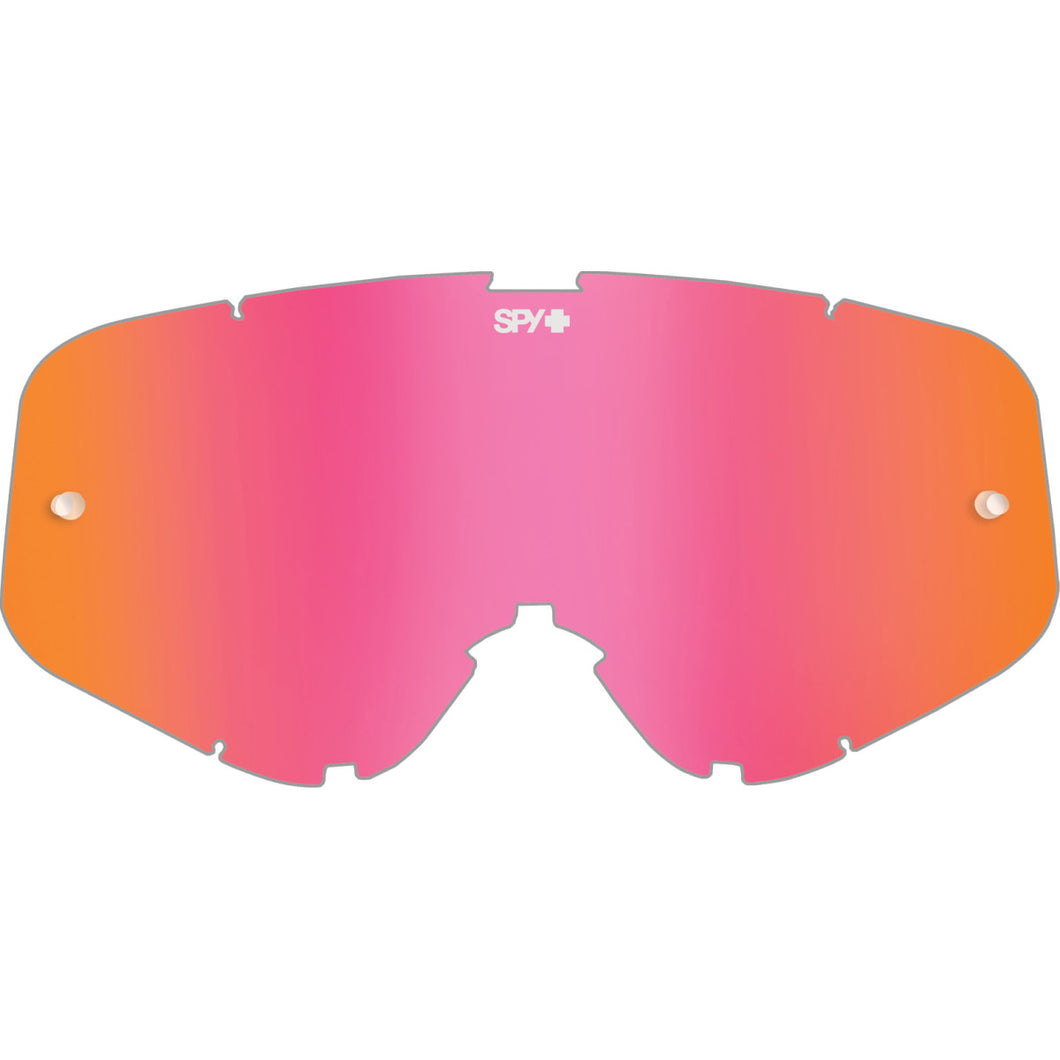 Woot/Woot Race Mx Lens - HD Smoke with Pink Spectra Mirror