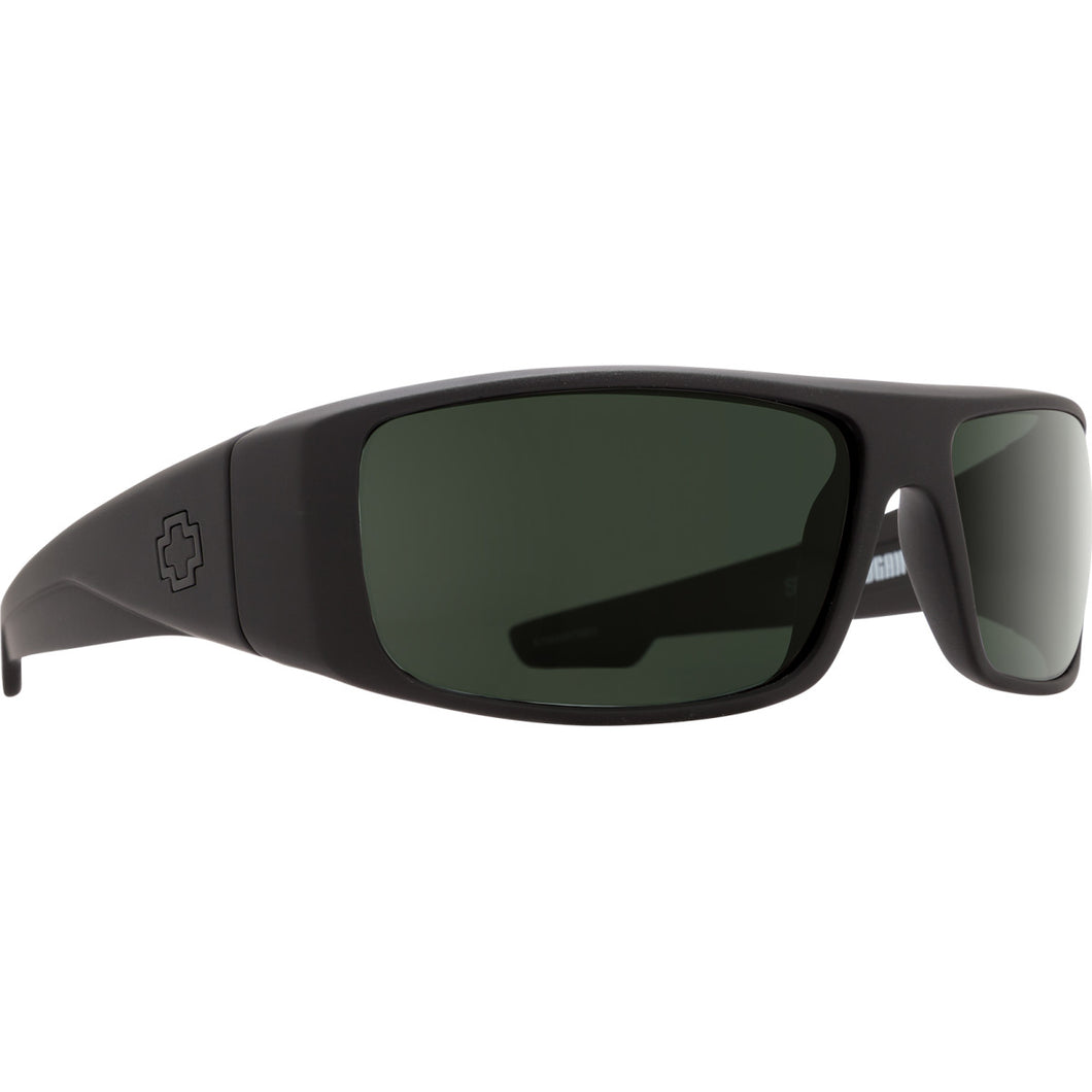 Logan Soft Matte Black - HD Plus Gray Green