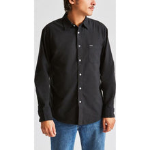 Load image into Gallery viewer, Charter Oxford L/S Woven - Black