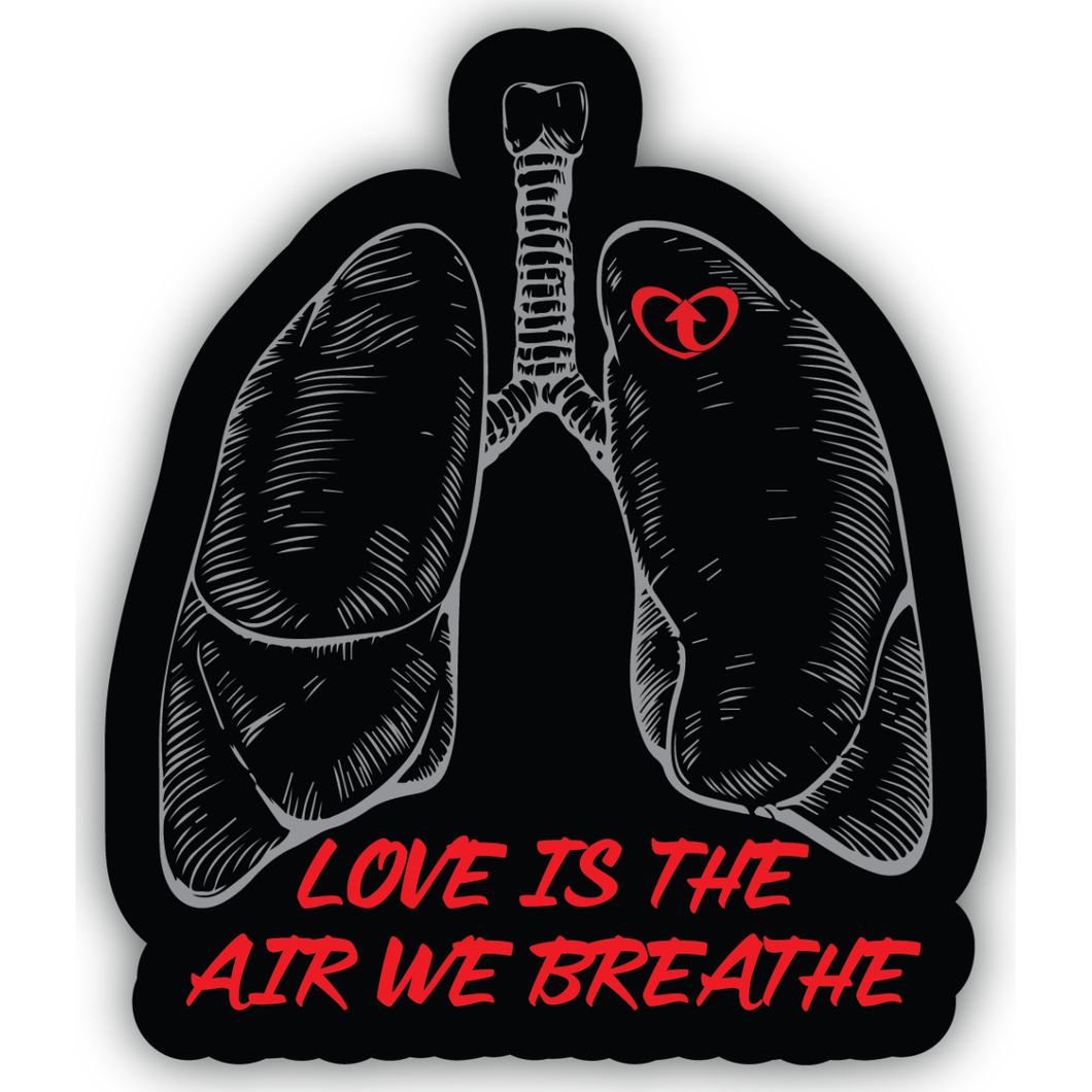 Air We Breathe Sticker