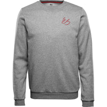 Load image into Gallery viewer, SCRIPT CREW FLEECE GRY/HTH